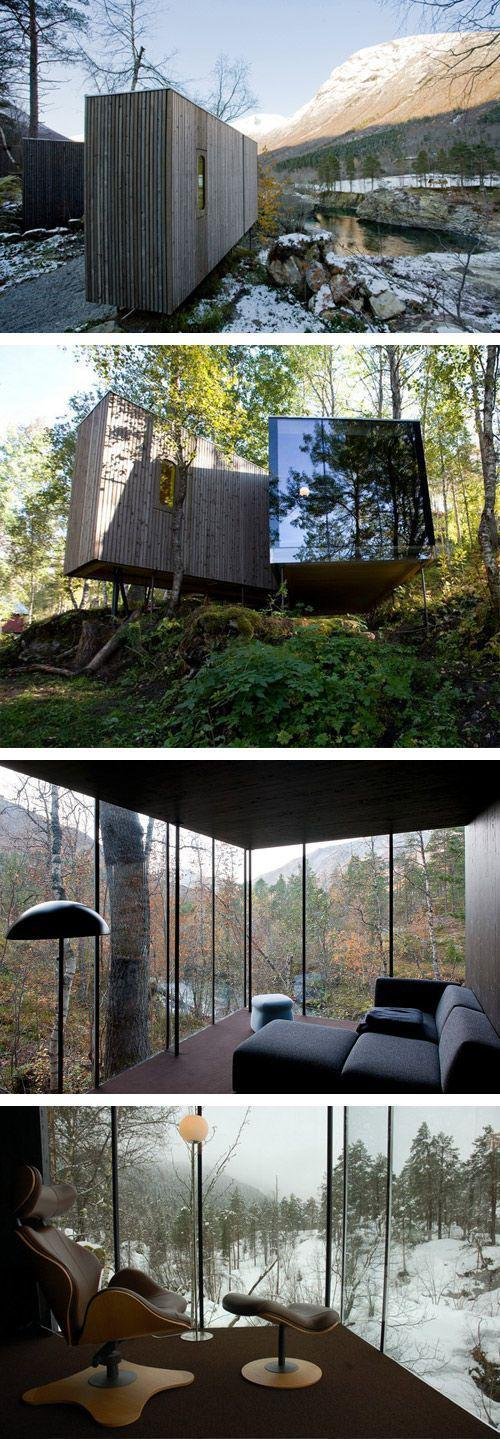 A architecture site in Norddal, Norway. #architecture #landscape #great #views #wilderness