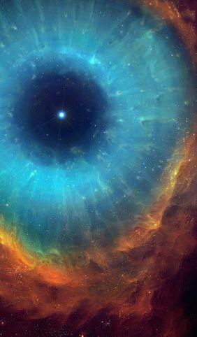 Image - The Helix Nebula, large planetary nebula, 700 light-years from Earth. #space #nebula #NASA #hubble - Post 766