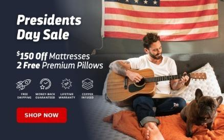 Image - President Day Sale 2020 | Layla Sleep  Get $150 Off on Mattress and 2 Free Premium Pillows on President Day S...