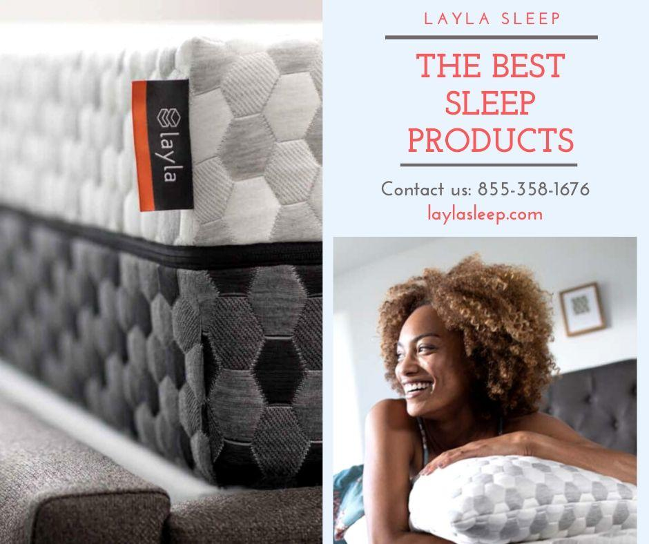 Image - Layla Sleep - The Best Sleep Products in the USA We offer the best mattresses and foam pillows at fairest pri...