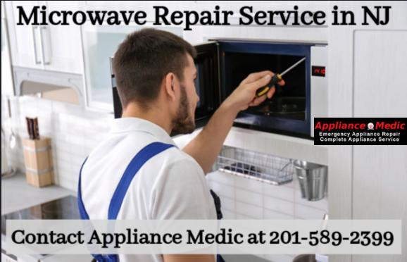 Image - Get Microwave Repair Services in New Jersey with Appliance Medic along with a 1-year service warranty. Schedu...