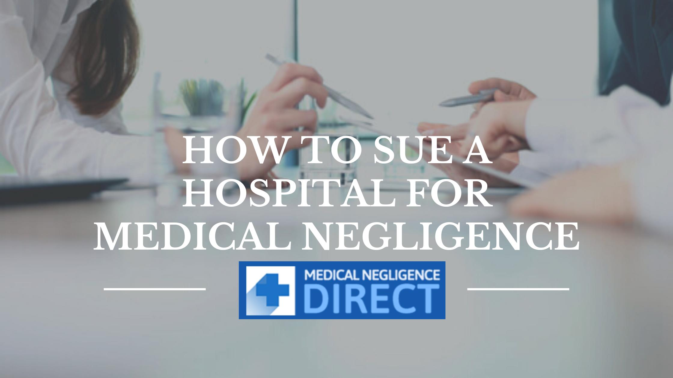 Image - Medical Negligence can have a huge impact on your life. If you have a suffered #negligence at a hospital, you...