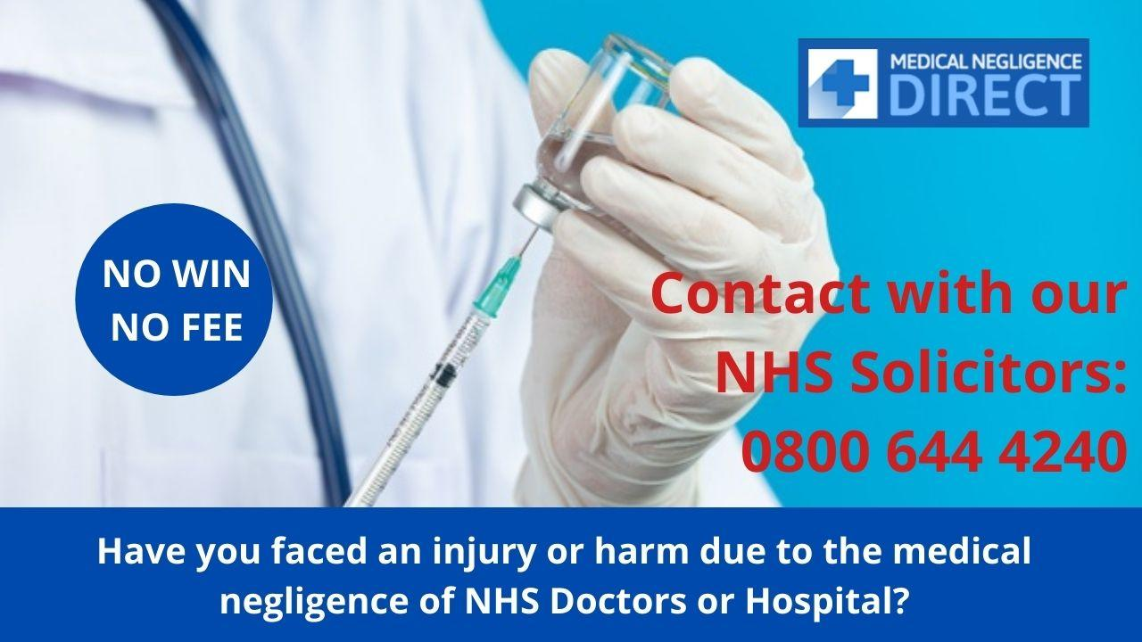 Image - Have you faced an injury or harm due to the #MedicalNegligence of NHS Doctors or Hospital, then you can make ...