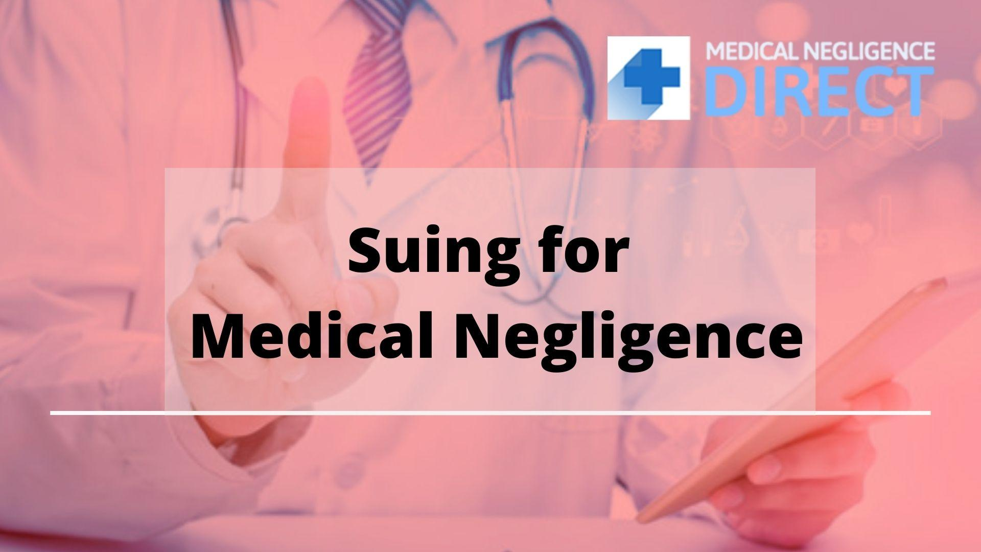Image - Medical Negligence occurs due to substandard treatment or care by the doctor or Nurse & the patient has to fa...
