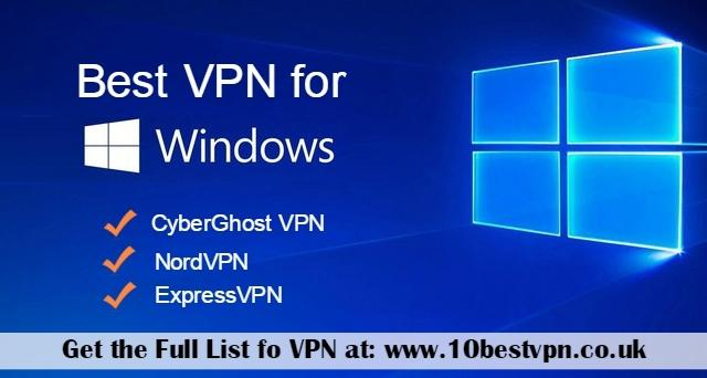 Image - Get the list of #BestVPNforWindows devices that perfectly work with any #Windows devices. 10BestVPN has creat...