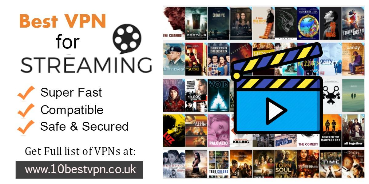 Image - 10BestVPN gives you a list of #BestVPNforStreaming that works perfectly for #Netflix, Hulu, BBC iPlayer, and ...