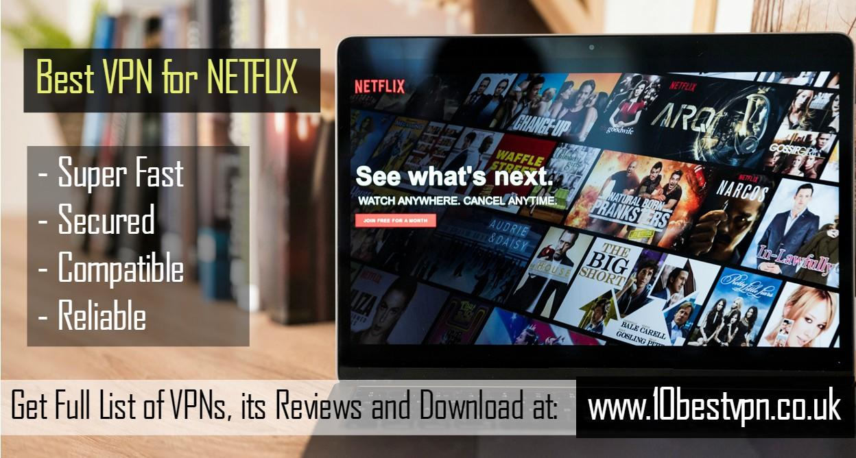 Image - 10BestVPN gives you a list of #BestVPNforNetflix that works and give you complete access of all #Netflix vide...