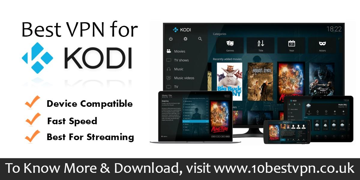 Image - 10BestVPN gives you a list of #BestVPNforKodi that works for any location and compatible for any device. If y...
