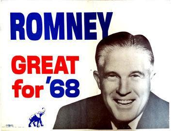 Image - George Romney killed Hudson.  This George Rmoney, father of Mitt Rmoney - 2012 Republican Presidential Nomine...