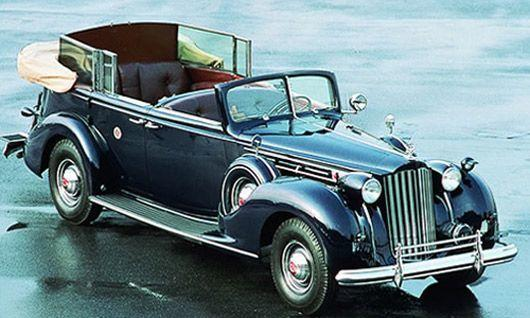 Image - Roosevelt's Packard Twelve was sent to Japan after the war to be used by General McArthur. - Post 413